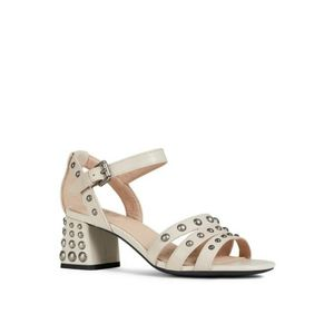 NWT Geox Respira Seyla Studded Leather Sandals